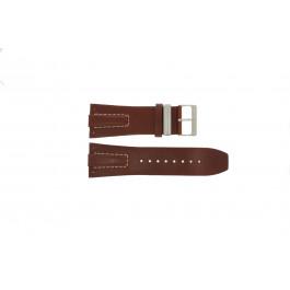 Klockarmband Davis BB0580 / BB0581 / BB0582 Läder Konjak 30mm