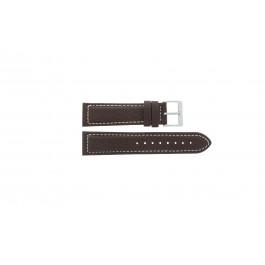 Klockarmband Davis BB1021 / BB1023 Läder Brun 22mm