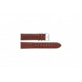Davis klockarmband B0903 Läder Brun 22mm