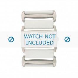Klockarmband Davis BB0755 Läder Vit 36mm