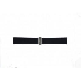 Klockarmband Davis BB0881 Gummi Svart 22mm