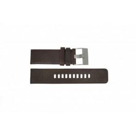 Klockarmband Diesel DZ1467 / Screw+Springbar Läder Brun 24mm