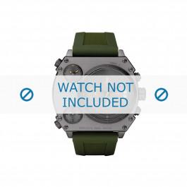 Klockarmband Diesel DZ4202 Silikon Grön 28mm