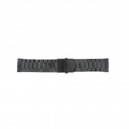 Klockarmband Diesel DZ4318 / DZ4283 / DZ4316 / DZ4355 / DZ4309 / DZ4338 Stål Svart 26mm
