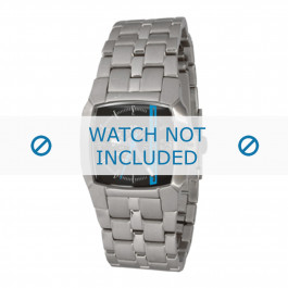 Diesel klockarmband DZ5204 Rostfritt stål Ilverfärgad 21mm