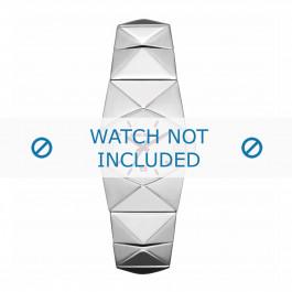 Diesel klockarmband DZ5326 Rostfritt stål Ilverfärgad 19mm