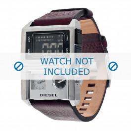 Diesel klockarmband DZ7174 Läder Brun 28mm