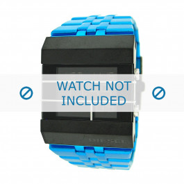 Diesel klockarmband DZ7229 Rostfritt stål Blå 35mm