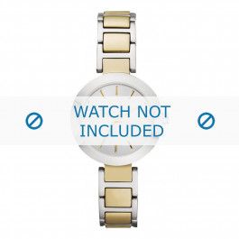 DKNY klockarmband NY8747 Rostfritt stål Guld 28mm