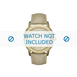Klockarmband DKNY NY8435 Läder Brun 20mm