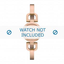 DKNY klockarmband NY8542 Metall Rosévin 6mm