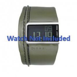 Klockarmband Diesel DZ7053 Läder Grön 28mm