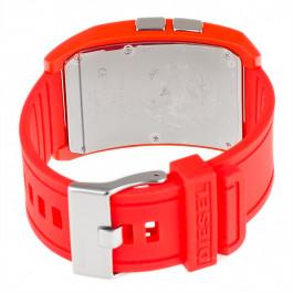 Diesel klockarmband DZ7218 Silikon Röd 24mm