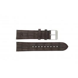 Esprit klockarmband ES107591002-40L Läder Brun 22mm + sömmar brun