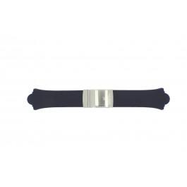 Klockarmband Festina F16044/1 / F16046/1 Gummi Blå 20mm
