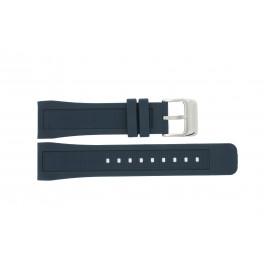 Klockarmband Festina F16642-2 Silikon Blå 24mm
