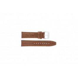 Festina klockarmband F16081/8 Läder Brun 22mm + sömmar brun