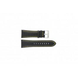 Klockarmband Festina F16235/7 Läder Svart 28mm