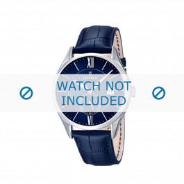 Klockarmband Festina F16872.3 Läder Blå 21mm