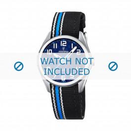 Klockarmband Festina F16904-2 Läder/Textil Polykromi 16mm
