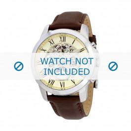 Klockarmband Fossil ME3027 Läder Brun 22mm