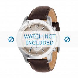 Klockarmband Fossil FS4533 Läder Brun 22mm