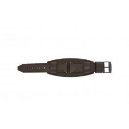 Klockarmband Fossil JR1365 Läder Brun 25mm