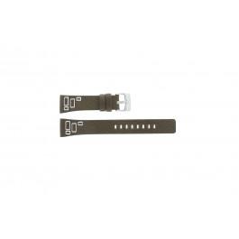 Fossil klockarmband JR-9519 Läder Brun 20mm