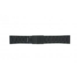 Klockarmband Fossil FS4552 Stål Svart 24mm