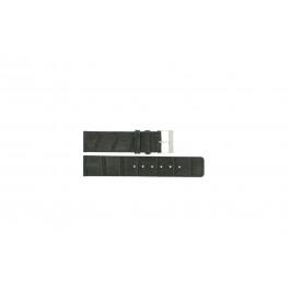 Klockarmband Universell G810 Läder Grå 20mm