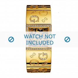 Klockarmband Guess I80340L1 / I90222L1 Stål Guldpläterad 16mm