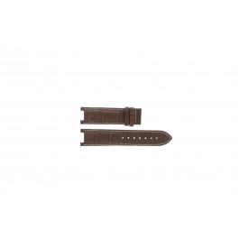 Klockarmband Guess GC31000G1 / GC31000G / X44001G1 / I45003G1 Läder Brun 12mm