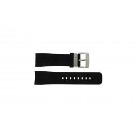 Guess klockarmband GC35006G1 / GC40500G1 / GC45005G Gummi Svart 24mm