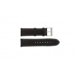 Guess klockarmband W95046G1 Läder Brun 24mm