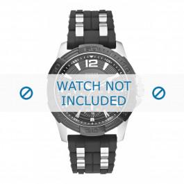 Klockarmband Guess W0366G1 Gummi Svart 24mm