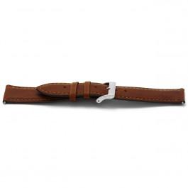 Klockarmband Universell H344 Läder Konjak 22mm