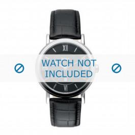 Klockarmband Hugo Boss HB-24-1-14-2034 / HB659302044 Läder Svart 20mm