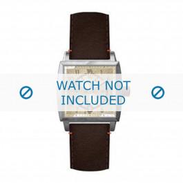 Klockarmband Hugo Boss HB-34-1-14-2049 Läder Brun 24mm
