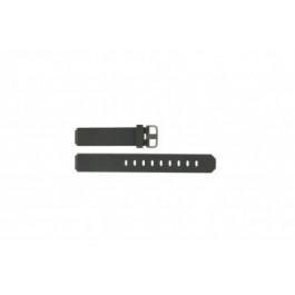 Jacob Jensen klockarmband 700 serie  Gummi Mörk grå 17mm