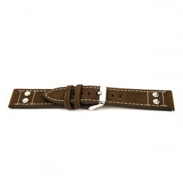 Klockarmband Universell I367 Läder Brun 24mm
