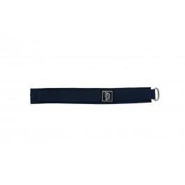 Klockarmband Universell 5883-06-20 Kardborreband Blå 20mm