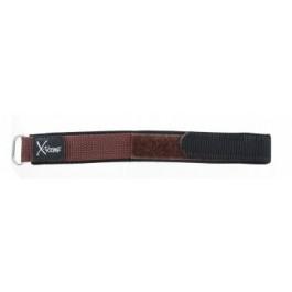 Klockarmband Condor KLITTENBAND 412R bruin (donker) Kardborreband Brun 20mm