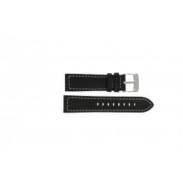 Klockarmband Lotus 15813-1 / 15813-4 Läder Svart 23mm