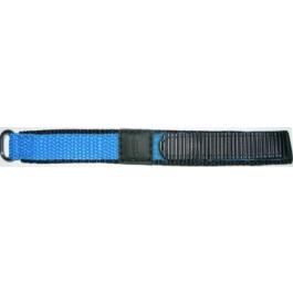 Klockarmband Condor KLITTENBAND 412R Kardborreband Ljusblå 14mm