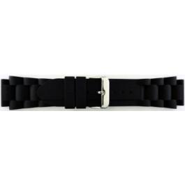 Klockarmband Universell SL101 Silikon Svart 20mm