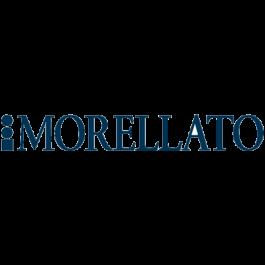 Morellato klockarmband Thin D2860220017CR06 / PMD017THINC06 Krokodil läder Vit 6mm