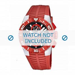 Klockarmband Lotus 15778-2 Gummi Röd 26mm