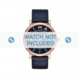 Klockarmband Marc by Marc Jacobs MJ1534 Läder Blå 18mm