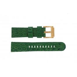 Klockarmband Marc Coblen MCSLR2087 Läder Grön 22mm