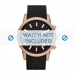 Klockarmband Michael Kors MK8244 Gummi Svart 22mm